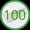 E- 100 Foot-Sox Dispenser Boxes