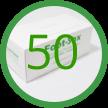 D- 50 Foot-Sox Dispenser Boxes